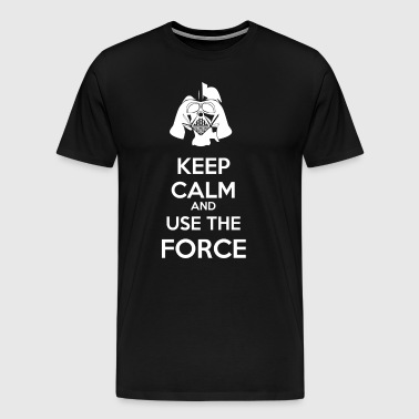 Use The Force Vader - Mannen Premium T-shirt