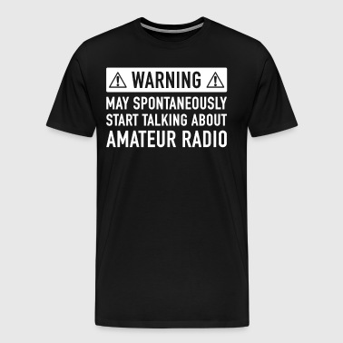 Funny Amateur Radio Gift Idea - Men's Premium T-Shirt