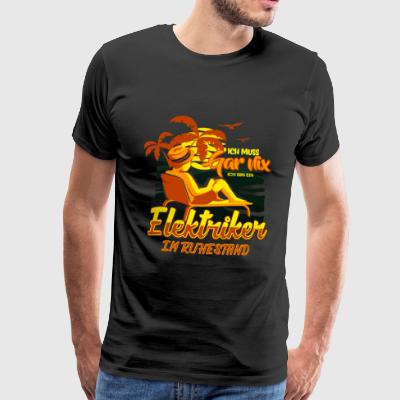 ELECTRICIAN IN RETAIL TRADE - Men's Premium T-Shirt