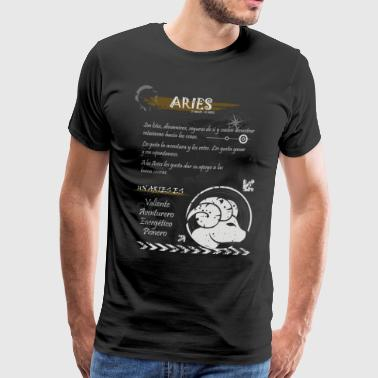 ARIES SIGN - Men's Premium T-Shirt