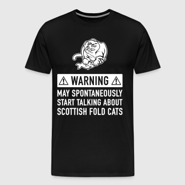 Funny Scottish Folding Gift Gift Idea - Men's Premium T-Shirt
