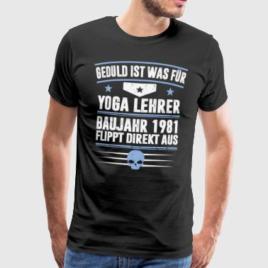CONSTRUCTION YEAR 1981 - Men's Premium T-Shirt