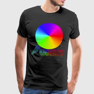Nerd Responsable déclaration CSD Déclaration Point coloré - T-shirt Premium Homme