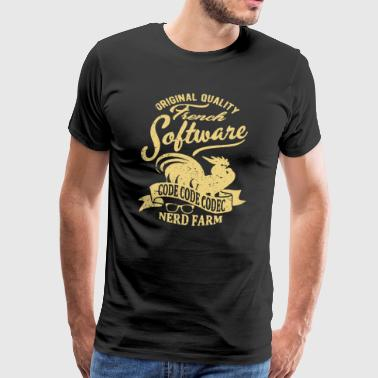 French software - Men's Premium T-Shirt