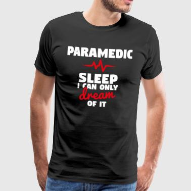 Paramedic - Night Shift Funny T-Shirt - Men's Premium T-Shirt