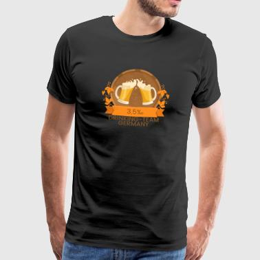 Oktoberfest 5 Drinking Team Germany - Men's Premium T-Shirt