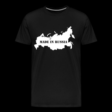 Made in Russia. Russian quality. - Men's Premium T-Shirt