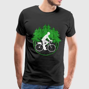 Bicycle gift environment healthy - Men's Premium T-Shirt