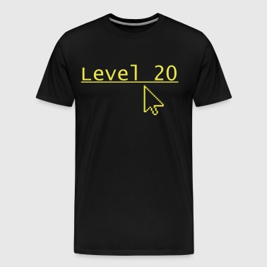 Level 20 - Mannen Premium T-shirt