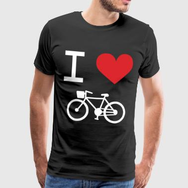 I love Bike - T-shirt Premium Homme