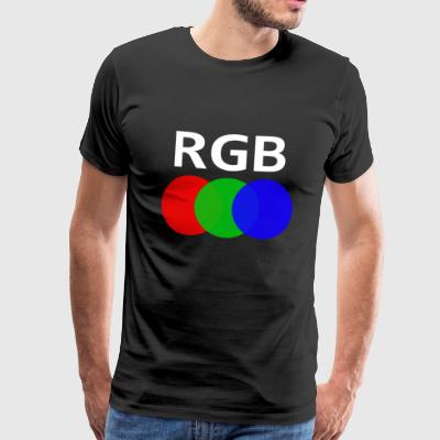 RGB (Red Green Blue) - Men's Premium T-Shirt