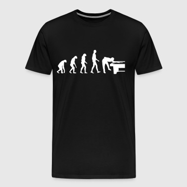 Billiards Evolution - T-shirt Premium Homme