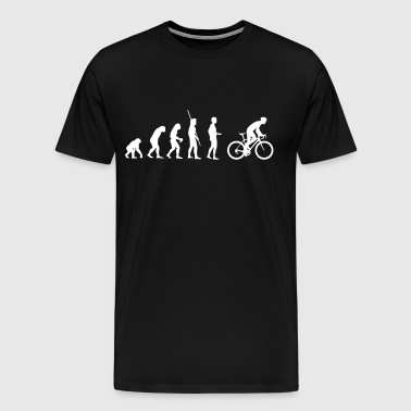 Evolution bike saddle - Men's Premium T-Shirt