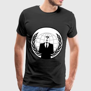 AnonymousLegion - Premium T-skjorte for menn
