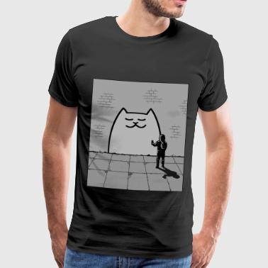 Chat endormi - T-shirt Premium Homme