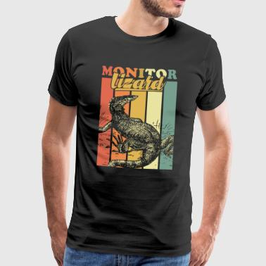 Monitor lizard - Men's Premium T-Shirt