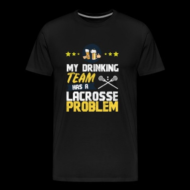 Lacrosse shirt for Lacross player gift - Men's Premium T-Shirt
