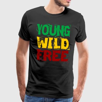 Young Wild Free - Men's Premium T-Shirt