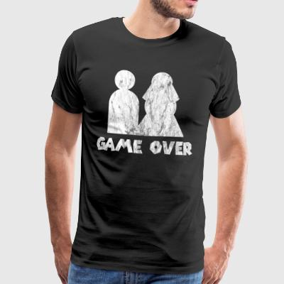 game over used look - Men's Premium T-Shirt