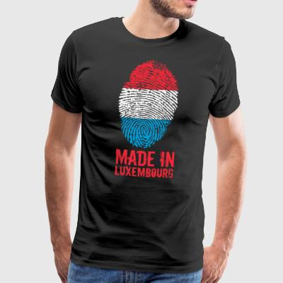 Gemaakt in Luxemburg / Made in Luxemburg - Mannen Premium T-shirt