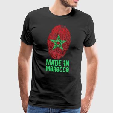 Made in Morocco / Gemacht in Marokko المغرب - Männer Premium T-Shirt