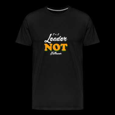 in a leader - Men's Premium T-Shirt