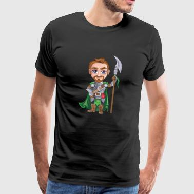 knight - Premium-T-shirt herr