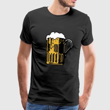 Beer Mug Beer Party Celebrate Gift - Men's Premium T-Shirt