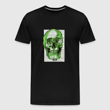 GREEN SKULL - Men's Premium T-Shirt