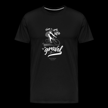 Gravel Cyclist - Ride Responsibly - Men's Premium T-Shirt