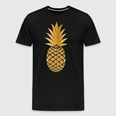 Golden pineapple - Men's Premium T-Shirt