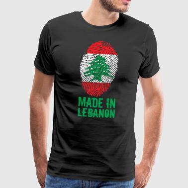 Made in Lebanon / Made in Lebanon اللبنانية - Men's Premium T-Shirt