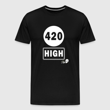 420 HIGH - T-shirt Premium Homme