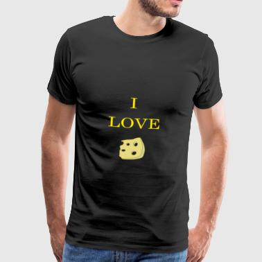 Cheese love - Männer Premium T-Shirt