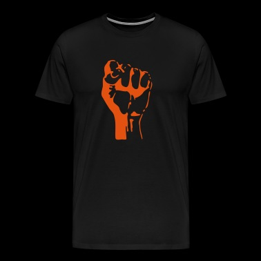 Clenched fist - Men's Premium T-Shirt
