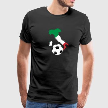 Italy Football Italy Gift Fan Home Pride - Men's Premium T-Shirt