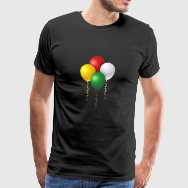 Balloons for carnival or carnival - Men's Premium T-Shirt