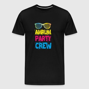 Amrum Party Crew Club Holiday Fun 2018 T-Shirt - Men's Premium T-Shirt