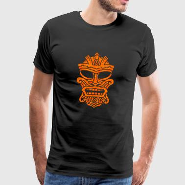 Kanaloa - Ancient Tiki God the Sea - Mannen Premium T-shirt