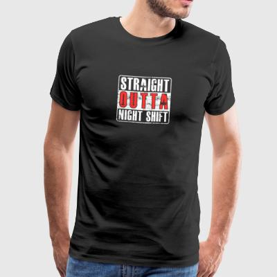 Directly from the night shift gift hospital - Men's Premium T-Shirt