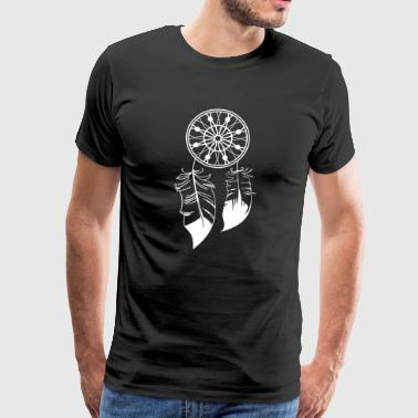 Dreamcatcher - Premium-T-shirt herr