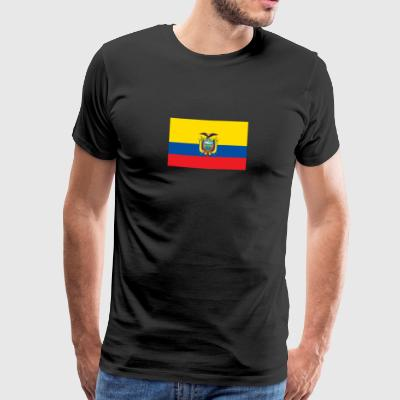 National Flag Of Ecuador - Men's Premium T-Shirt