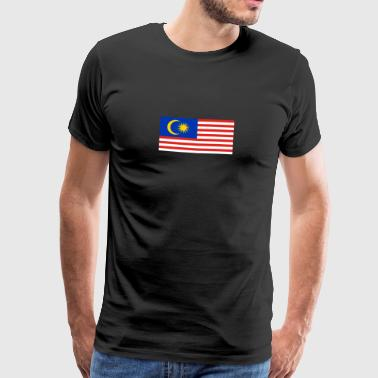 National Flag Of Malaysia - Men's Premium T-Shirt