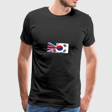 South Korea - Premium-T-shirt herr