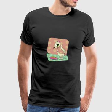 Cat comic - Men's Premium T-Shirt