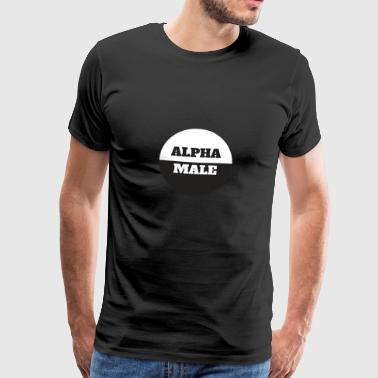 Alpha Male - Mannen Premium T-shirt