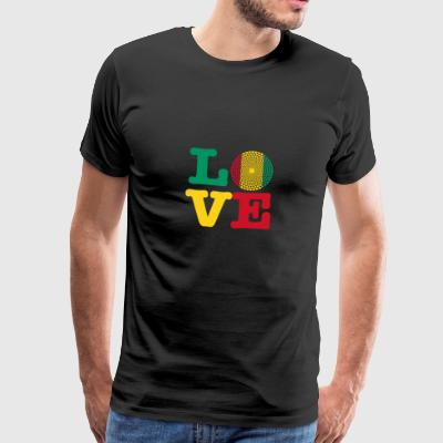 GUINEA HEART - Men's Premium T-Shirt