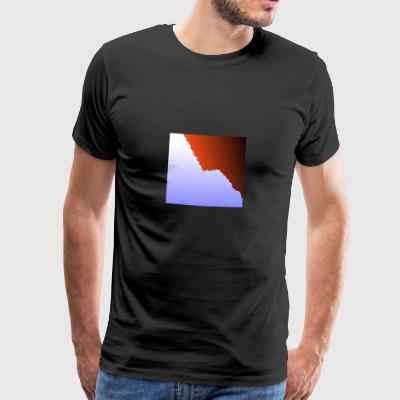 mountain three - Männer Premium T-Shirt