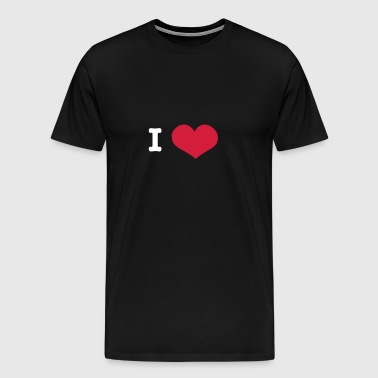 I Love ... (insert own text) - Men's Premium T-Shirt