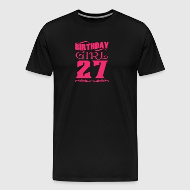 Birthday Girl 27 years old - Men's Premium T-Shirt
